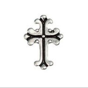 3/$15 🖤 Origami Owl Ornate Silver Gothic Charm